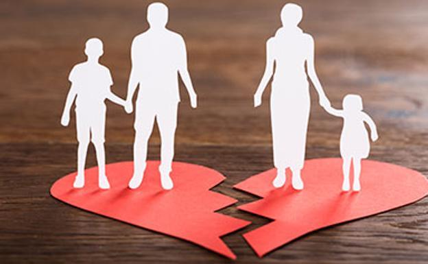 Una disputa del divorcio: el libro de familia